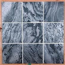 Silver Grey Quartzite Tile, India Grey Quartzite