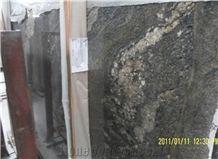 Juparana Dream, Cosmic Gold Granite Slabs & Tiles