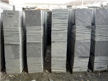 Slate Flooring Tiles, China Black Slate