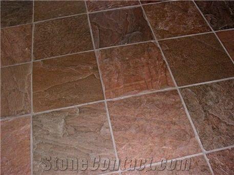 Slate Tile China Red