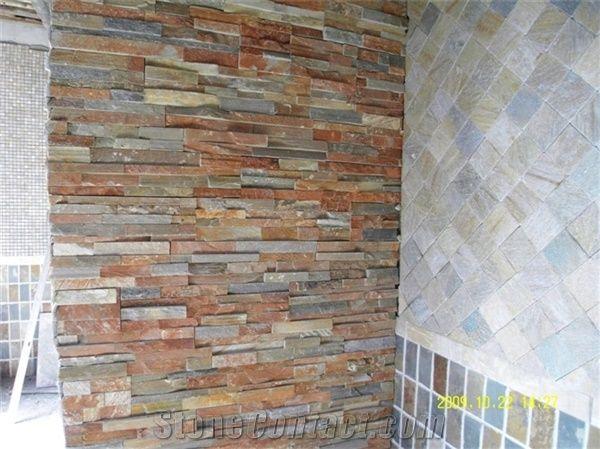 Interior Decoration Stone Wall Decorative Stone Brown
