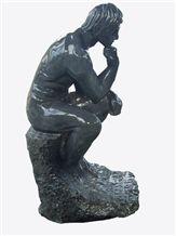 Natural Stone Statues, Black Granite Statues