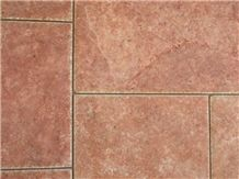 Antique Red Travertine Pattern Sets