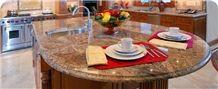 Juparana Florence Granite Coutertops
