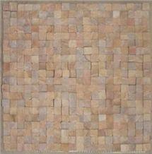 Pink Sandstone Mosaic Tiles