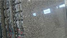 Leopard Skin Granite Slabs, China Green Granite