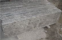 Overlord Flower Marble Steps, Grey Marble