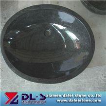 Stone Round Sink