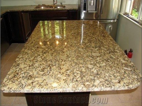 Attrayant New Venetian Gold Yellow Granite Countertop