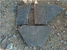 Karystos Grey Quartzite Flagstone, Karystos Nero Grey Quartzite