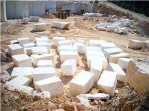 Snow White Thassos Marble Blocks