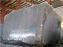 Pietra Grey Marble Block, Grey Marble Blocks Iran