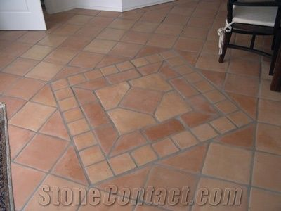 Terracotta Saltillo Ceramic Floor Tile
