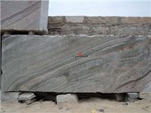Silver Silk Granite Block
