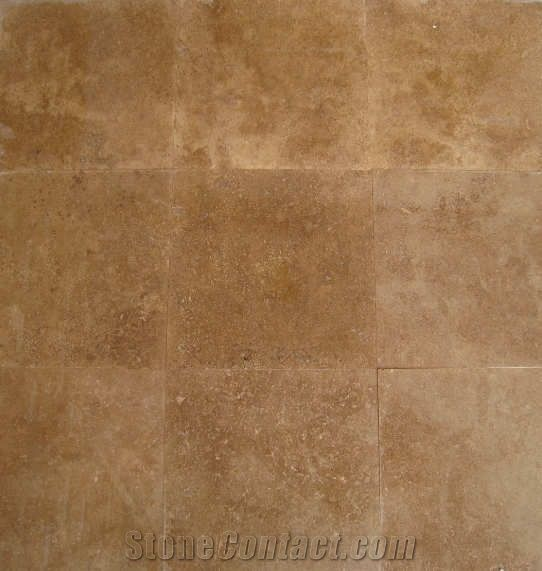 Noce Travertine Tiles Turkey Brown