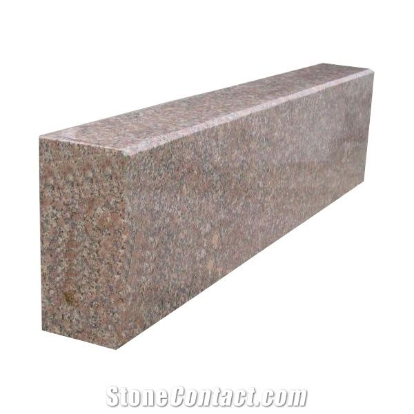 Red Granite Curbstone from China-114768 - StoneContact com