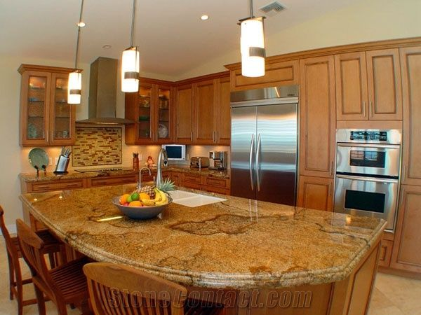 kitchen tile ideas photos egzotic granite countertops yellow granite from 20113