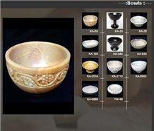 Marble, Onyx Bowl