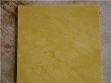 China Lemon Gold Marble Tile