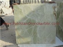 Light Green Onyx Tiles, Pakistan Light Green Onyx