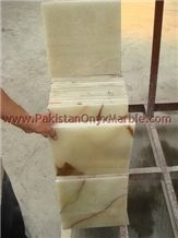 Pakistan Best Quality Light Green Onyx Tile