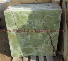 Pakistan Green Onyx Tile