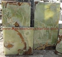 Pakistan Green Onyx Tiles