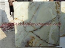 Pakistan Light Green Onyx Tiles