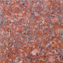 Red Binh Dinh Granite Slabs & Tiles