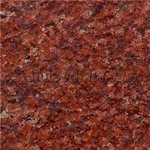 Ruby Granite Tile, Viet Nam Red Granite