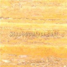 Desert Gold Fleuri Travertine Slabs & Tiles