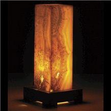 Ivory Jade Onyx ,Aragonite Onyx Lamp