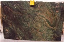 Cactus Boreal Granite Slab 2CM, Brazil Green Granite
