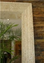Colonial Coral Stone Saw Cut Door Surround