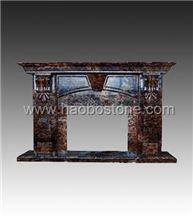 Fireplace, Stone Fireplace HBFP021