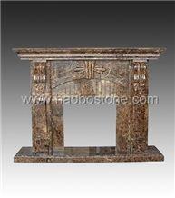 Fireplace, Stone Fireplace HBFP022