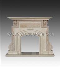 Fireplace, Stone Fireplace HBFP023
