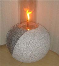 Granite Natural Stone Oil Lanterns-001
