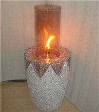 Granite Natural Stone Oil Lanterns-002