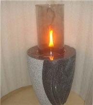 Granite Natural Stone Oil Lanterns