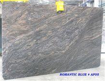 Romantic Blue Granite Slab
