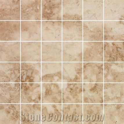 kitchen tile ideas pictures marble mosaics flooring wall tile cappucino brown marble 20114