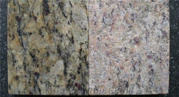 Santa Cecilia Clic Granite Giallo