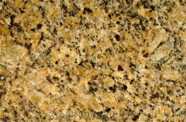New Venetian Gold Granite Tile Brazil Yellow Granite From