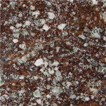 Porfido Valcamonica Granite Slabs & Tiles, Italy Brown Granite
