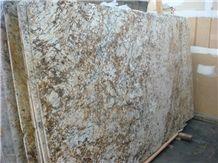 Golden Ivory,Golden Brown Granite Slab