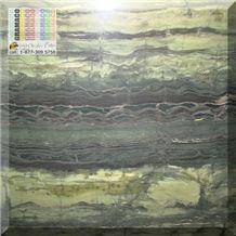 Verde Bamboo Quartzite Tile, Brazil Green Quartzite
