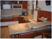 Sivakasi Granite Countertop,Yellow Granite