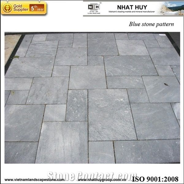 Blue Stone French Pattern From Viet Nam Stonecontact Com