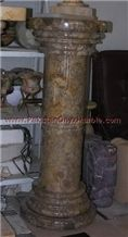 Corel Gem Marble Pedestals Column